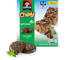 Iconic Girl Scout CookieTM Flavors Inspire New QuakerR ChewyR Granola Bars
