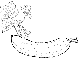 Free Printable Vegetables Coloring Page To Print Large Size
