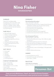 Housekeeping Resume Example Housekeeping Resume Sample Monstercom Description For Of Duties Hospital Entry Level Hotel Housekeeper Genius Samples Examples Free Fresh Summary By Real People Head 78 Private Housekeeper Resume Sample Juliasrestaurantnjcom The 2019 Guide With 20 Example And Guide For Professional Housekeeping How To Make