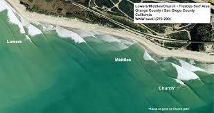 Surf Break Map Middles
