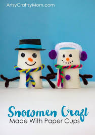 Best For The Whole Family Images On Winter Kid Crafts Absolutely Adorable Paper Cup Snowman Craft Preschool Ideas Simple