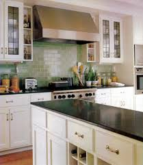 Light Blue Subway Tile by Kitchen Extraordinary Image Of Kitchen Decoration Using Light