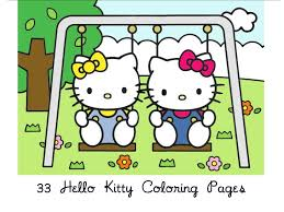 Free Hello Kitty Coloring Book Get More Pages ColoringContest