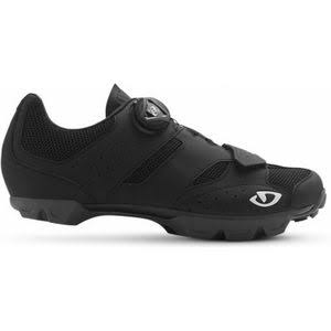 Giro Men's Cylinder Mountain Bike Shoes - Black, 47 EU
