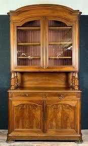 wohnzimmer bücherschrank mit zwei mahagoni korpus louis