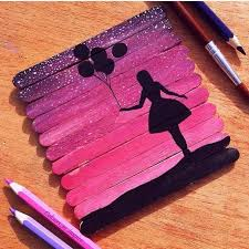 114 Best Ice Cream Sticks Popsicle Art Images On Pinterest Craft Regarding Stick Artwork Design 13