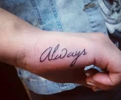 My Hand Tattoos
