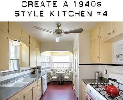 Design Board To Create A 1940s Kitchen With Yellow Cabinets