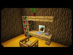 Minecraft Kitchen Ideas Pe by Minecraft How To Make A Home Office Youtube Mine Craft