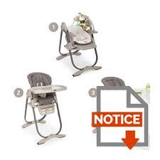 chaise haute évolutive chicco chicco chaise haute evolutive polly magic cocoa cocoa achat