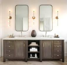 Bathroom Double Vanity Lights by 11 Diy Bathroom Vanity Plans You Can Build Today In Double