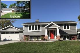 100 Split Level Curb Appeal Appeal Exterior House Remodel In 2019 Home Exterior