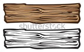Old Wood Plank Clipart