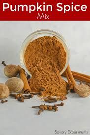 Ingredients For Pumpkin Pie Spice by Pumpkin Pie Spice Savory Experiments