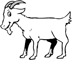 Cartoon Goats Coloring Pages