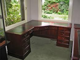 bureau classique bureau d angle anglais 150 x 180 cm ou sur mesure