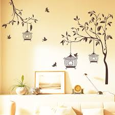 happy lights birds with tree wall sticker tree wall