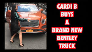CARDI B BUYS A BRAND NEW BENTLEY TRUCK 2017 - YouTube New Bentley Coinental Coming In 2017 With Porschederived Platform Geneva Motor Show 2018 Full Report Everything You Need To Know If Want Bentleys New Bentayga Suv Youll Get Line Lease Specials Trucks Suvs Apple Chevrolet 2019 For 1997 Per Month At La Jolla An Ogara Coach Brand San Diego California Truck Redesign And Price Car Review Spied Protype Sports Gt Face Motor Trend Worth The 2000 Tag Bloomberg Reviews Photos Specs The Five Most Ridiculously Lavish Features Of