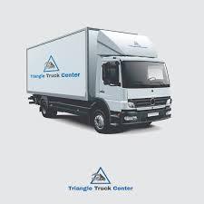 100 United Truck Center Elegant Playful Logo Design For Triangle By DesignBox