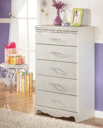 Zayley Dresser And Mirror by Zarollina Youth Upholstered Bedroom Set From Ashley B182 63 62