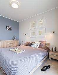 wohnungseinrichtung ideen schlafzimmer blaugraue wandfarbe