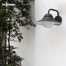 savia waterproof outdoor wall l e27 max 60w aluminum outdoor