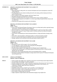 Download Regional Business Development Manager Resume Sample As Image File