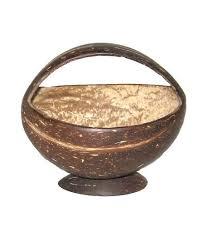 Coconut Shell Basket
