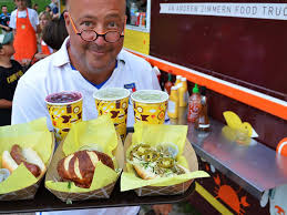 Andrew-Zimmern-Food - Chameleon Concessions Andrew Zimmerns Superb Day With Dc Food Trucks Eater Go Fork Yourself With Zimmern And Molly Mogren Listen Via Birmingham The Hottest Small Food City In America Birminghams Fried Big Truck Tip Watch Network Bizarre Viking Working On Menu For New Stadium Andrewzimmnexterior3 Chameleon Ccessions A Oneway Plane Ticket Saved Life Cnn Shoots A Foods Episode Budapest Films At South Bronx It Sure Looks Like Is Opening New Restaurant