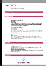 Accountant Resume Template 2016