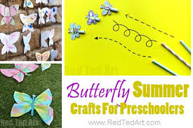 Easy Summer Art For Toddlers And Preschool A Great Selection Of Arts Crafts