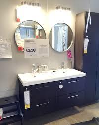 Ikea Canada Bathroom Medicine Cabinets by Bathroom Round Mirror With Storage By Ikea Furniture Using