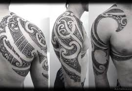 Sweet Maori Tattoo Design