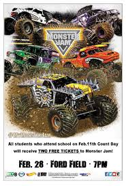 "DPS Partners With Feld Motor Sports To Host ""Monster Jam"" Count Day ... Grave Digger Monster Jam January 28th 2017 Ford Field Youtube Detroit Mi February 3 2018 On Twitter Having Some Fun In The Rockets Katies Nesting Spot Ticket Discount For Roars Into The Ultimate Truck Take An Inside Look Grave Digger Show 1 Section 121 Lions Reyourseatscom Top Ten Legendary Trucks That Left Huge Mark In Automotive Truck Wikiwand"