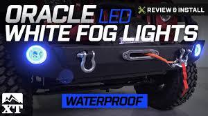 Jeep Wrangler Oracle LED Waterproof Fog Light Kit White 2007