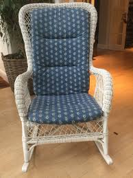 White Wicker Rocking Chair With Blue Print Padded Cushion | In Cobham,  Surrey | Gumtree Colorful Floral Rocking Chair Cushion 9 Best Recliners 20 Top Rated Stylish Recling Chairs Navy Blue Modern Geometric Print Seat Pad With Ties Coastal Coral Aqua Cushions Latex Foam Fill Us 2771 23 Offchair Fxible Memory Sponge Buttock Bottom Seats Back Pain Office Orthopedic Warm Cushionsin Glider Or Set In Vine And Cotton Ball On Mineral Spa Baby Nursery Rocker Dutailier Replacement Fniture Dazzling Design Of Sets For White Nautical Schooner Boats Rockdutailier Replace Amazoncom Doenr Purple Owl