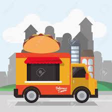 100 Taco Food Truck Icon Urban American Culture Menu And Consume