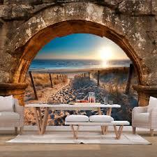 details zu vlies fototapete strand meer landschaft stein tapete wandbilder wohnzimmer