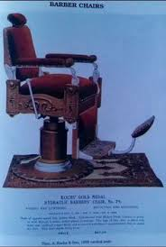 Theo A Kochs Barber Chair Footrest by Early Louis Hanson Barber Chair Probably 1880 U0027s Charming