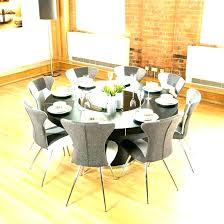 Dining Tables 8 Chairs Round For Oak Table And Big