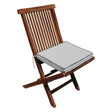 Seven Seas Teak Folding Chair Outdoor Cushion