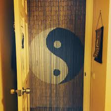 Doorway Beaded Curtains Wood by Yin Yang Door Beads My Photos Pinterest Door Beads Yin Yang