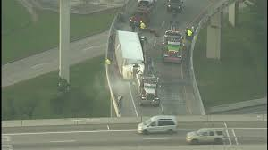 2 Overturned 18-wheelers Cause Headaches On Houston Freeways | Abc13.com Coal Truck Wreck On Lens Creek Has Neighbors Demanding Action Full Of Dominos Pizza Dough Crashes Rises Across Road 1 Student Killed After Into Indiana School Bus Time Train Crashes Fedex Truck Cnn Video Accidents During The Holidays Gauge Magazine Love Those 11foot8 Bridge Videos Tacoma Has Its Own Can Dump Crash In San Jacinto Tx Autoweek Southwest Airlines Plane At Bwi News 5 Cleveland Fire Dairy Queen North Texas Abc13com Boat Smashes Into That Was Towing It Rusty Wrecks Forest Pripyat Chernobyl Nuclear