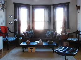 Primitive Living Rooms Decor by Interior Design Picture Modern Living Room With Three Windows