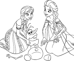 Marvellous Ideas Frozen Color Free Printable Coloring Pages For Kids