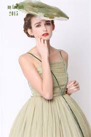 woodland wedding moss green silk bridesmaid dress wizard of oz