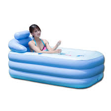 Inflatable Bathtub For Babies by Blowup Spa Pvc Folding Portable Bathtub Warm Inflatable Bath