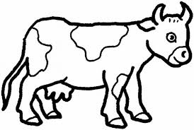 Childrens Printable Farm Animal New Picture Coloring Pages