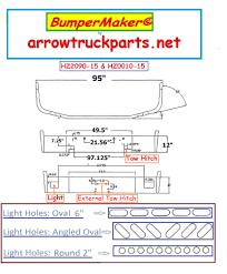 100 Arrow Highway Truck Parts Peterbilt Bumper 367