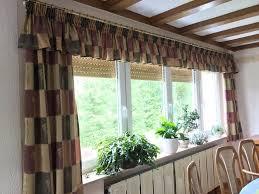 vorhänge esszimmer wohnzimmer